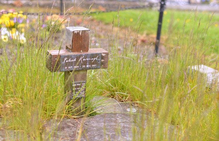 Monaghan Patrick kavanagh Grave 2
